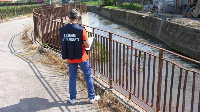 Blitz del Noe per la tutela dell'Ambiente: due denunciati a Roccapiemonte e San Valentino Torio
