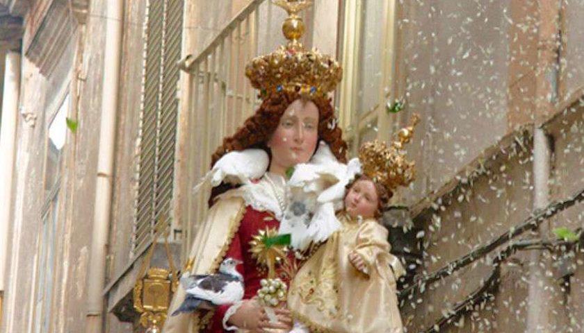 """A Pagani annullata la festa per la Madonna delle Galline. """"Un momento triste ma non possiamo fare diversamente"""""""