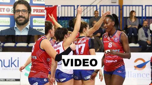 VIDEO: P2P Volley Baronissi tra presente e futuro, il pensiero del vice presidente Luca Castagna