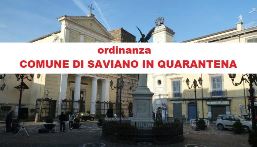 De Luca mette in quarantena il Comune di Saviano.