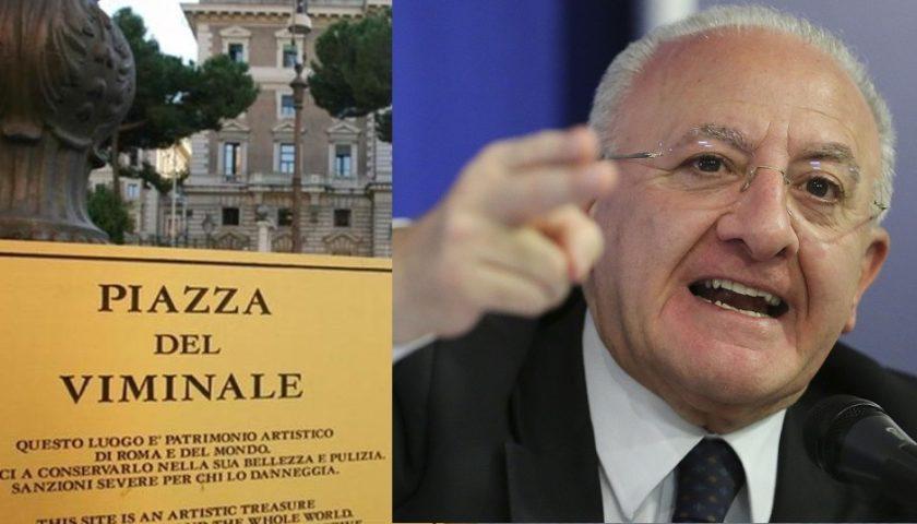 """Il Viminale risponde alle sollecitazioni di De Luca. I chiarimenti sulla circolare del 31 marzo """"Regole sugli spostamenti"""""""