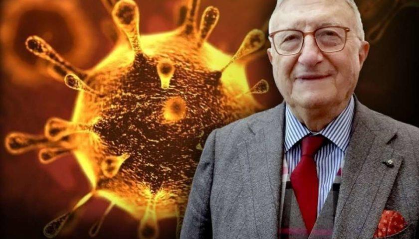 """Il virologo Tarro: """"Virus debole, le mascherine all'aperto per tutti non servono"""""""
