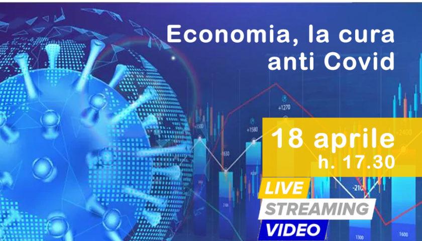 """DIRETTA STREAMING: """"Economia, la cura anti Covid"""" con Enzo Maraio, Andrea Prete e Salvatore Giordano"""