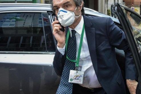 """Covid 19, """"Assassino"""": il presidente della Regione Lombardia sotto scorta"""
