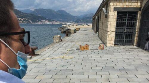 Cetara. Proseguono i lavori al porto in vista dell'apertura della stagione
