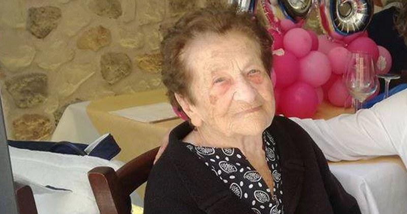 Festa a Salerno per la nonnina Carmela: oggi 108 anni