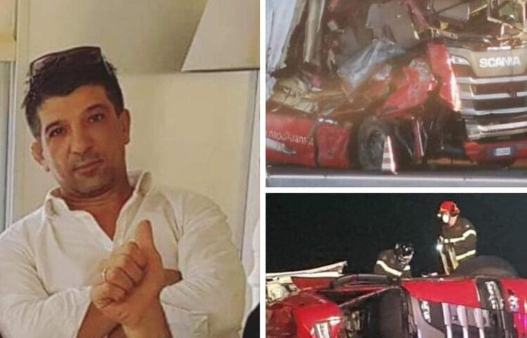 Incidente mortale sull'A1. La vittima, un camionista di Mercato San Severino