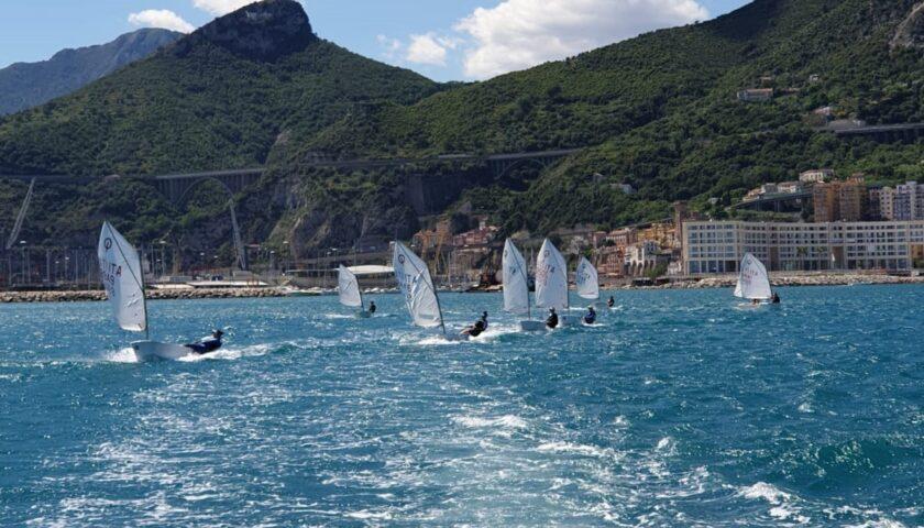 I velisti di Canottieri Irno Salerno e Lega Navale sono tornati a sfidare mare e vento