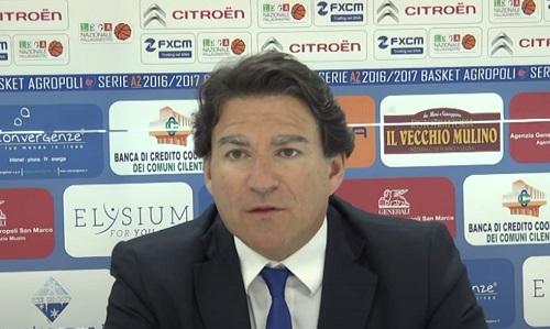 """Alessandro Finelli è il nuovo allenatore della Givova Scafati: """"Felice di tornare"""""""