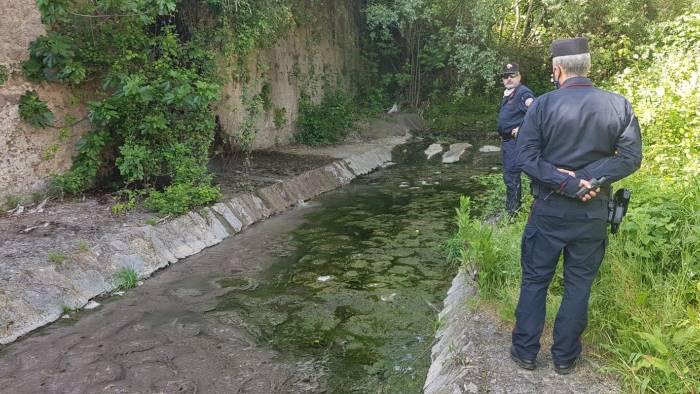 Scarico abusivo nel fiume Irno ad Acquamela di Baronissi, indaga la Procura