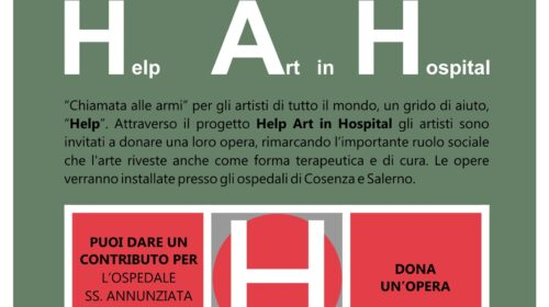 HAH – HELP ART in HOSPITAL chiamata per Artisti