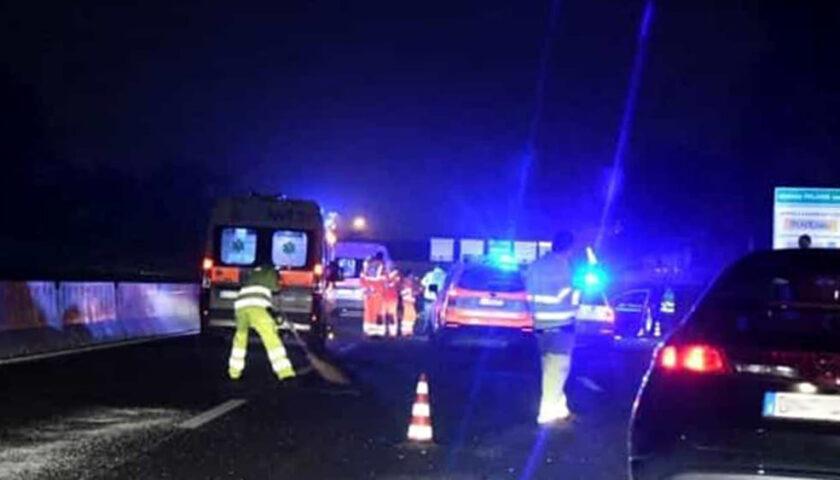 Incidente in autostrada tra Modena e Piacenza, muore l'autotrasportatore di Mercato San Severino Andrea Sellitto