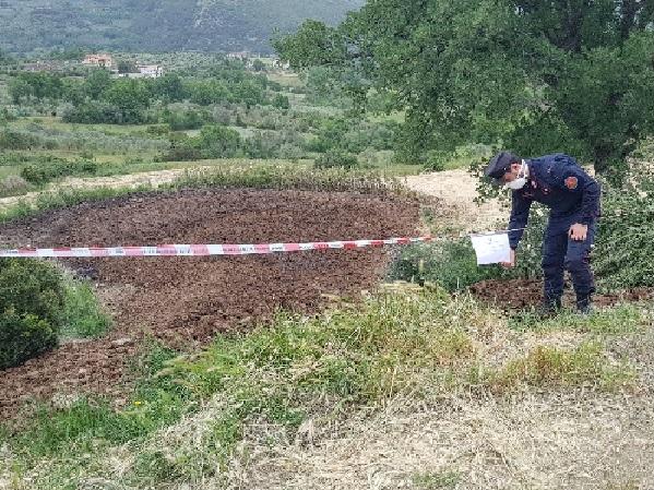 Accumulo di liquami e reflui zootecnici, sequestrata vasta area a Castelcivita