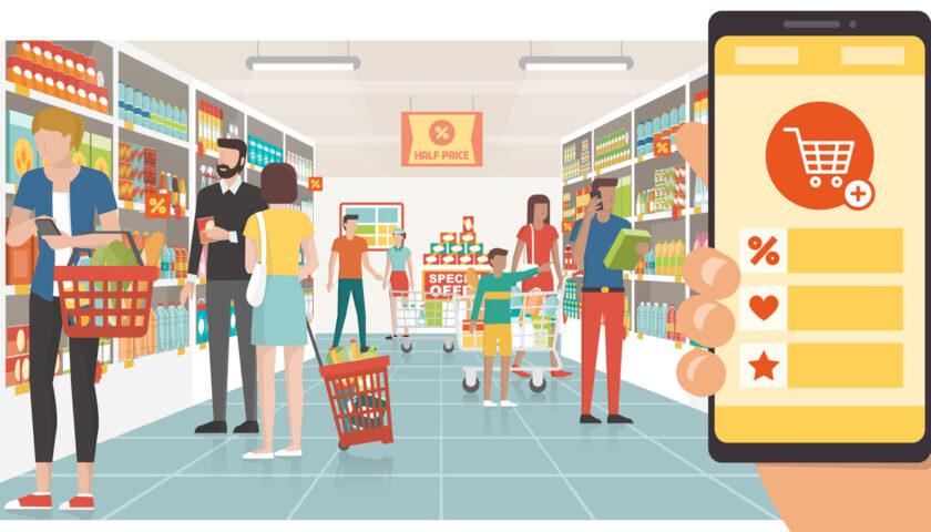 Fase 1 e Fase 2. Il boom dello shopping on-line.