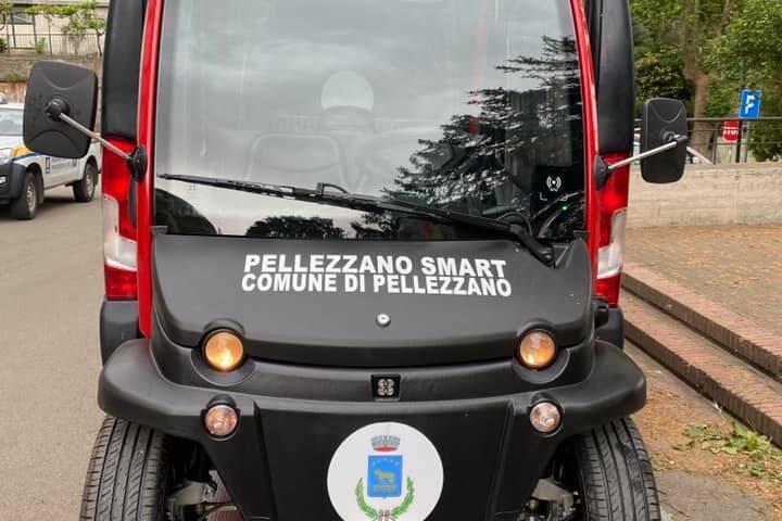Pellezzano: consegnata prima auto elettrica al comune di Pellezzano
