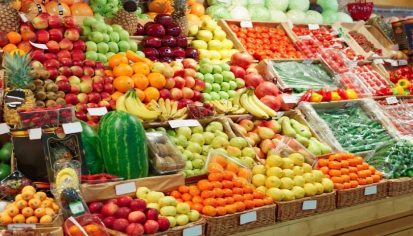 Emergenza Covid, schizzano i prezzi di frutta e verdura
