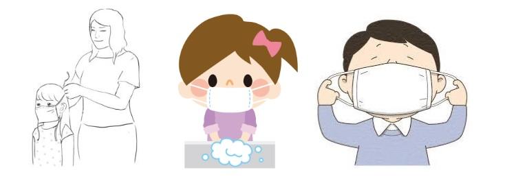 Regione Campania distribuisce tramite posta e gratuitamente le mascherine ai bambini