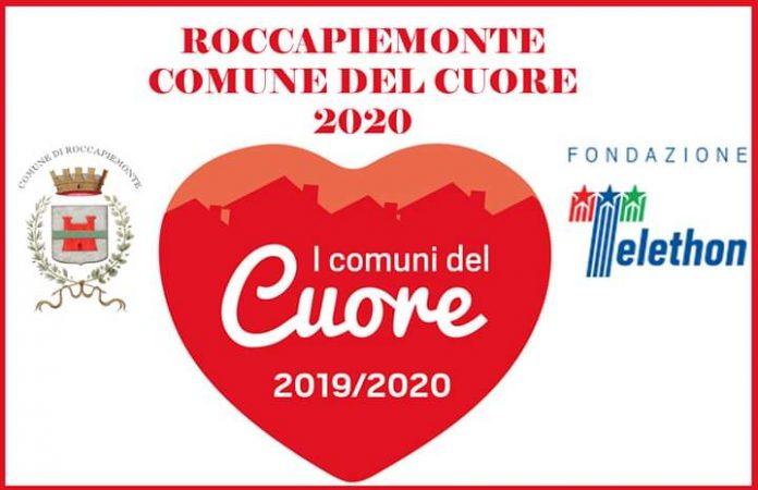 """Roccapiemonte è per il terzo anno consecutivo ed unico in Campania un """"Comune del Cuore Telethon"""""""