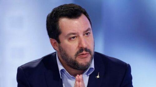 "Salvini a sorpresa a Mondragone: ""Continuerò a tornare nel Casertano e in Campania"""