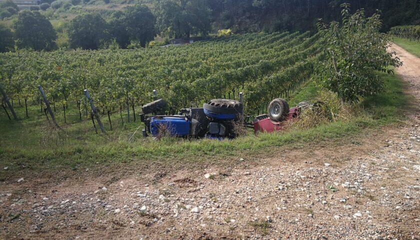 Travolto dal trattore, grave un 55enne di Roccadaspide