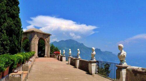 Ravello: riapre Villa Cimbrone e partono i lavori di restauro al Tempio di Bacco