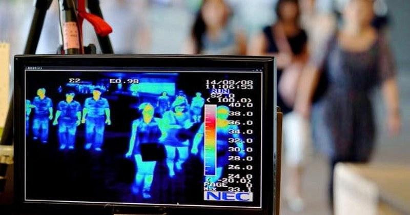 Termoscanner misuratore di temperatura corporea a 30 persone per volta creato da una start up salernitana