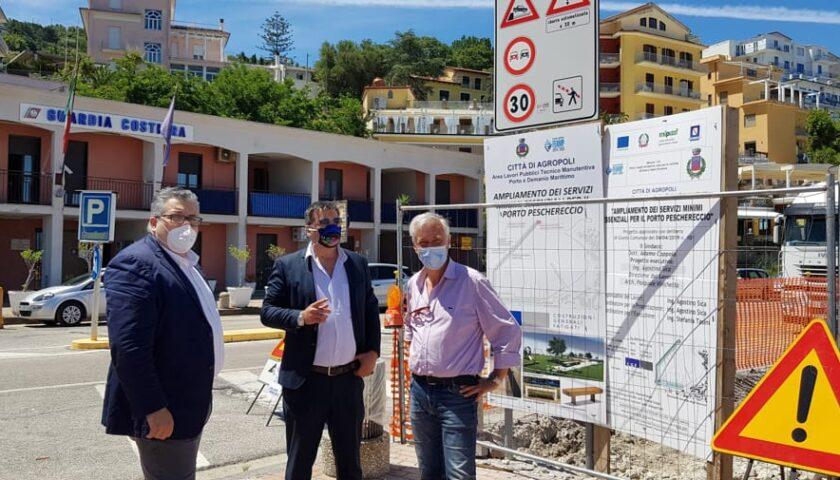 """Il Porto di Agropoli cambia look con 630mila euro, il sindaco: """"Struttura all'avanguardia"""""""
