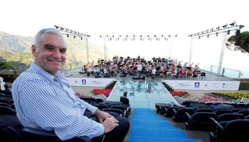 Ravello, Alessio Vlad si prende la 68esima edizione del Festival