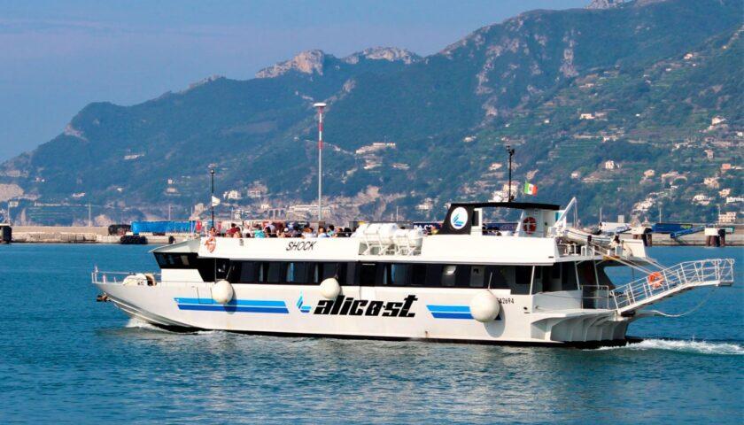 Da domenica prossima riparte il collegamento Alicost da Salerno alle Eolie