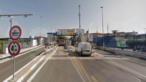 A3 Napoli/Salerno/Pompei: tra lunedì e martedì chiusura per lavori l'uscita di Angri Nord