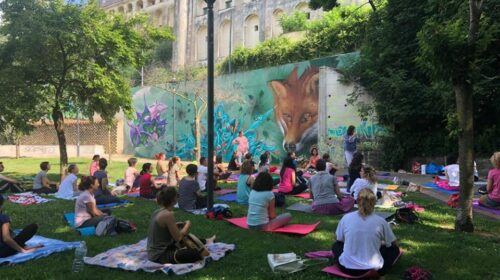 Da domenica al Parco Ciliegia di Baronissi ciclo di appuntamenti con lo Yoga