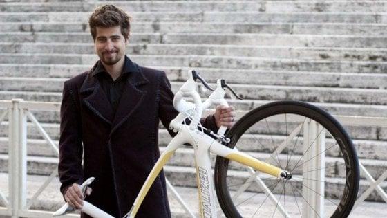 La bicicletta del Papa regalo di Peter Sagan all'asta per gli ospedali di Brescia e Bergamo