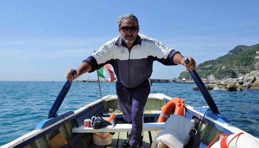 Cetara in lutto, addio a Salvatore Di Mauro alias caronte il traghettatore