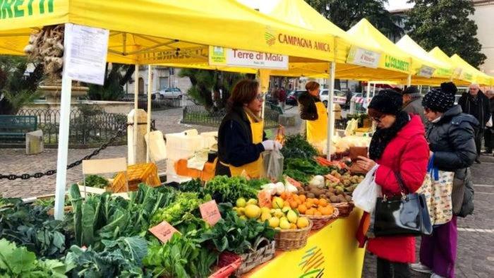 In piazza San Francesco a Salerno domani torna il mercato della Coldiretti