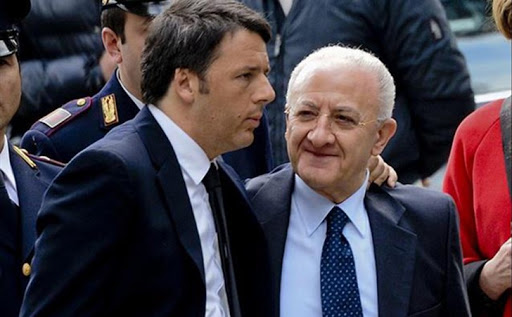 Italia Viva domani ufficializza l'accordo con De Luca per le Regionali