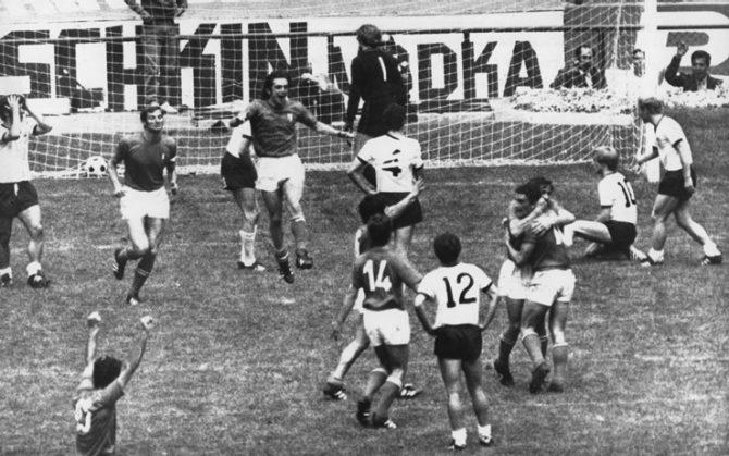Accadde oggi: il 17 giugno 1970 la partita Mundial che diventa leggenda