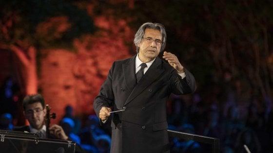 A Paestum un concerto del Maestro Riccardo Muti per la Siria