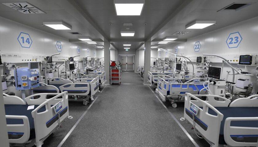 Coronavirus, la Giunta regionale approva il piano di potenziamento delle terapie intensive: oltre 800 posti letto