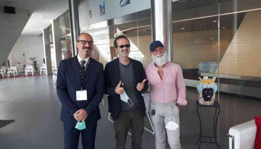 Rocco Papaleo ospite per caso alla Stazione Marittima di Salerno