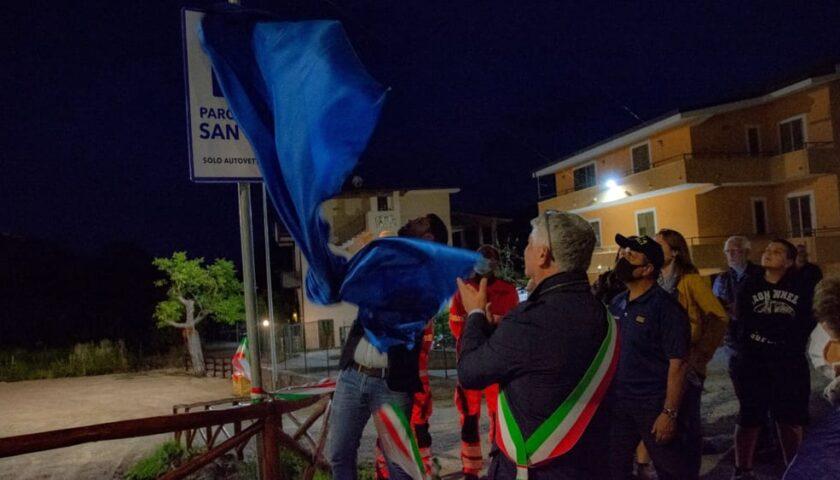 """Inaugurato ieri sera a Camerota il parcheggio """"San Vito"""": sarà gratis"""