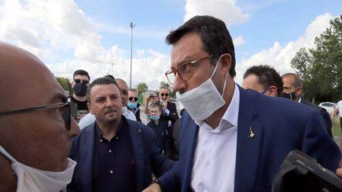 """Stasera arriva Salvini a Mondragone, si teme la contestazione. Saviano: """"Ha acceso gli animi per tornaconto elettorale"""""""
