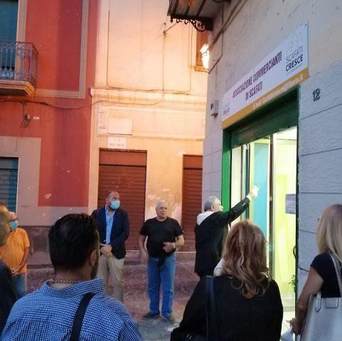"""Inaugurata ieri sera a Scafati la sede dell'associazione commercianti """"Scafati Cresce"""""""