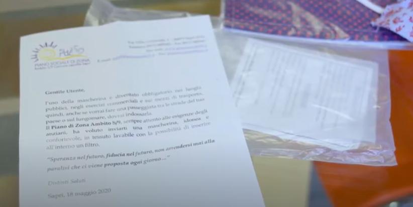 VIDEO| Coronavirus. Il Piano Sociale di Zona S9 distribuisce mascherine in 17 comuni