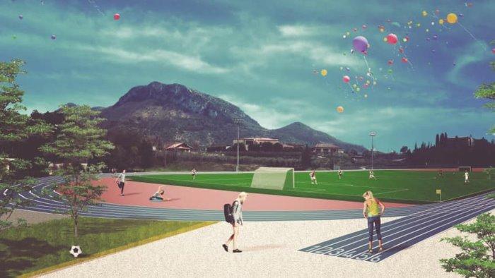Rifacimento dello stadio Troisi a Giffoni Valle Piana, sabato la posa della prima pietra