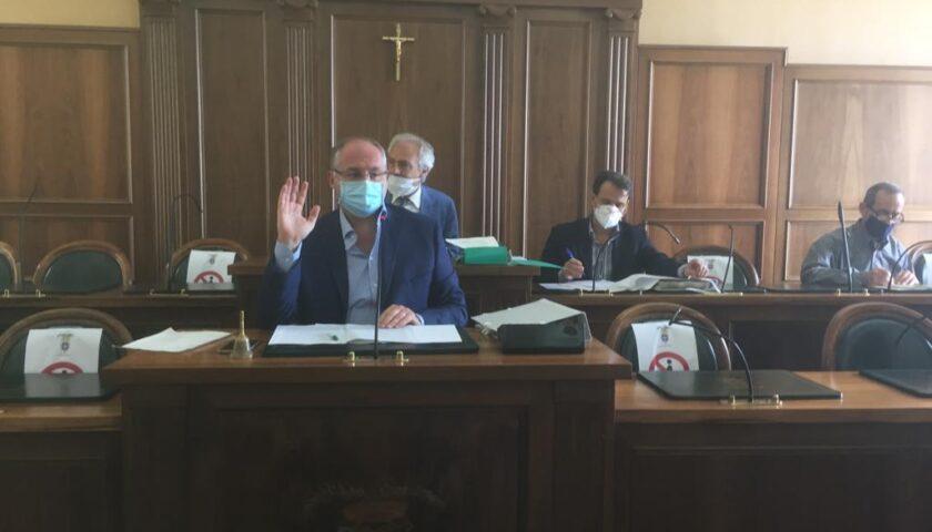 Si è tenuto oggi il Consiglio provinciale a Palazzo Sant'Agostino