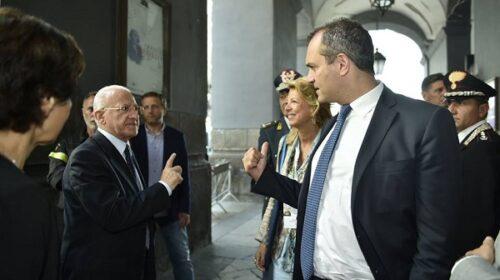 De Luca: De Magistris è il più grande disastro amministrativo dell'Occidente