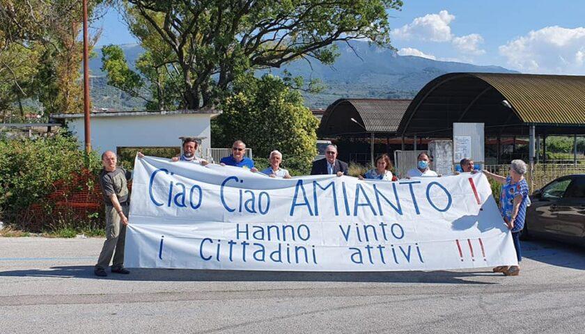 Bonifica dall'amianto al Foro Boario: in mattinata sopralluogo del sindaco Cariello con tecnici, dirigenti e comitato cittadino