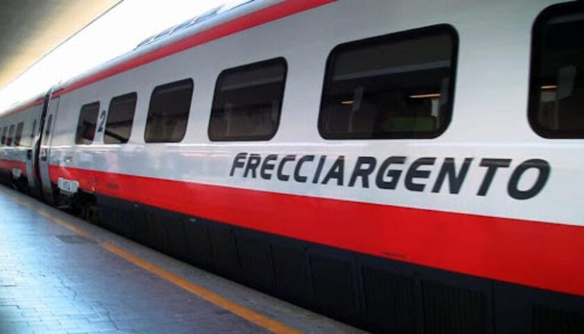 Dal 12 ottobre il Frecciargento fermerà nelle stazioni di Battipaglia, Vallo e Sapri