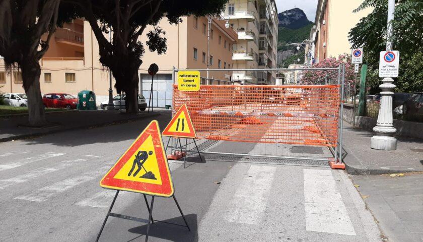 Lavori in via Porto, ecco il dispositivo di traffico
