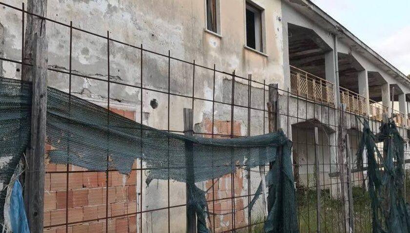A Capaccio partita la demolizione dell'ex cinema Myriam